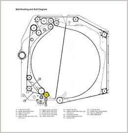 Ejetado o módulo de desembrulhar - moldagem do rolo inicial